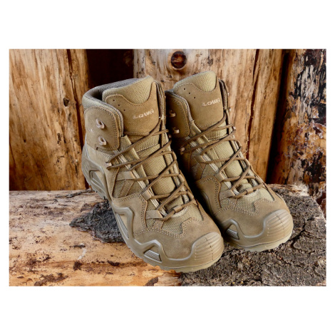 Topánky LOWA® Zephyr MID TF – Coyote OP