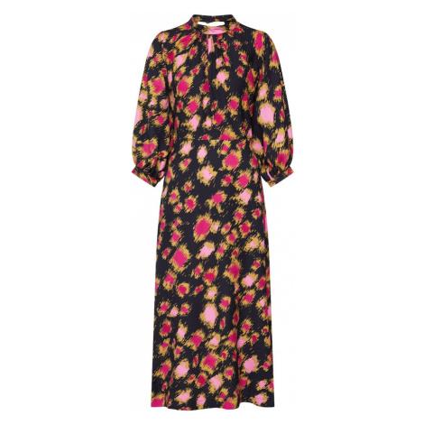 Closet London Košeľové šaty  čierna