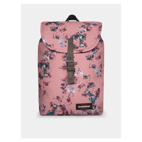 Ružový kvetovaný batoh Eastpak 10,5 l