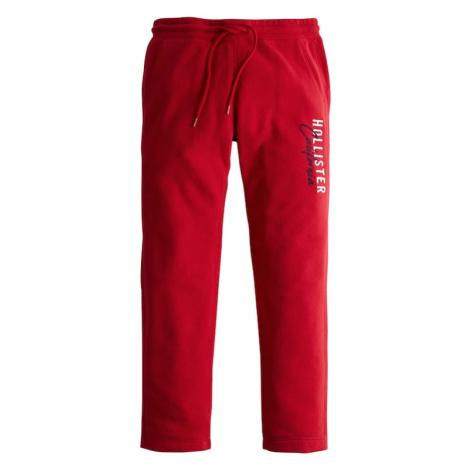 HOLLISTER Nohavice 'MODERN'  červená / biela / námornícka modrá