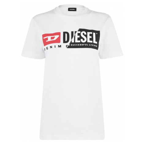 Diesel Asymmetrical Logo T Shirt