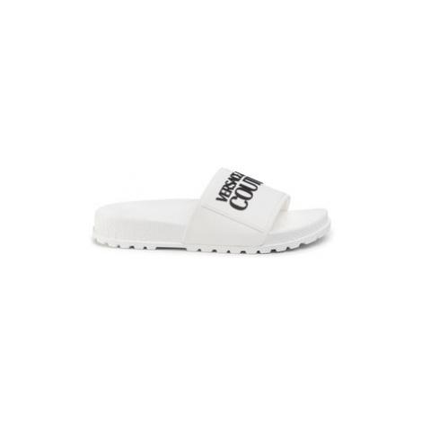Versace Jeans Couture Šľapky E0VVBSQ2 Biela