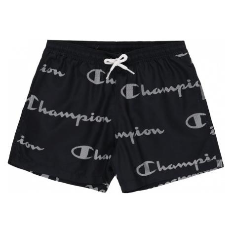 Champion Authentic Athletic Apparel Plavecké šortky 'Beachshort'  námornícka modrá / biela