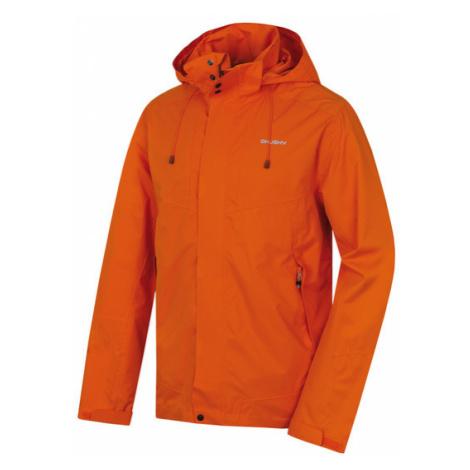 Pánska hardshellovej bunda Husky Nutty M oranžová