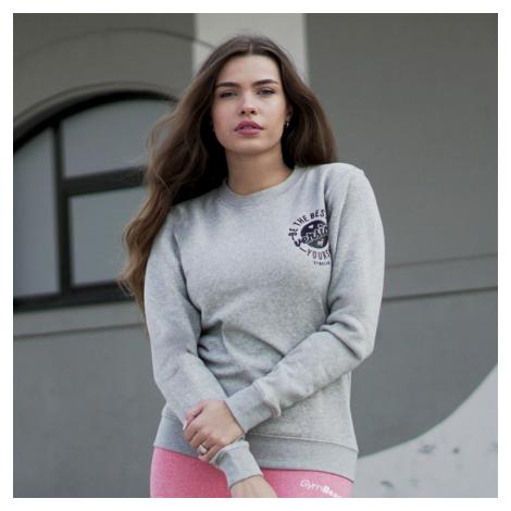 GymBeam Dámska mikina The Best Version Grey  XS