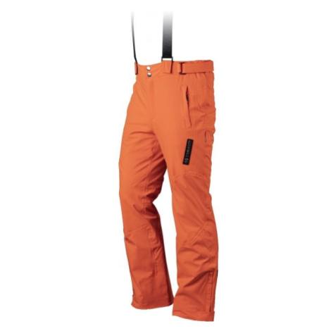 TRIMM RIDER oranžová - Pánske lyžiarske nohavice