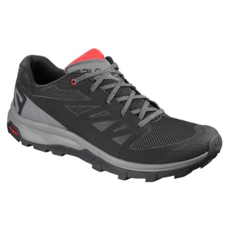 Salomon OUTLINE šedá - Pánska hikingová obuv