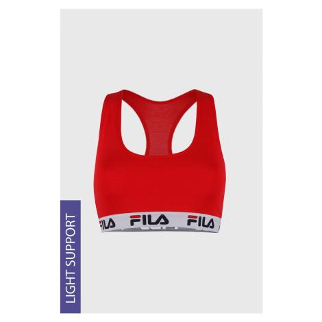 Športová podprsenka FILA Underwear Red červená