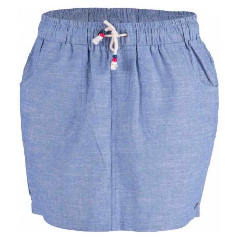 Willard CIALI modrá - Dámska plátená sukňa