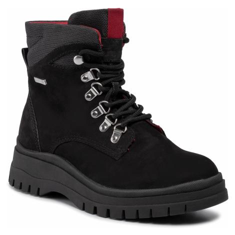 Členková obuv TAMARIS - 1-26979-33 Black/Lipstick 033
