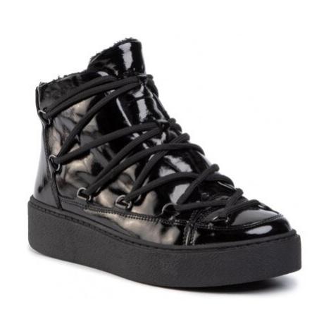 Šnurovacia obuv Gino Rossi WI23-PEGI-12 Prírodná koža(useň) - Lícova