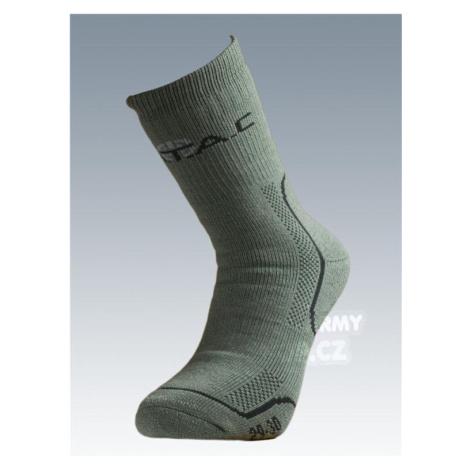Ponožky Thermo so striebrom Batac - olív