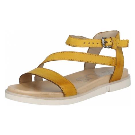 MJUS Remienkové sandále 'KETTA'  žltá