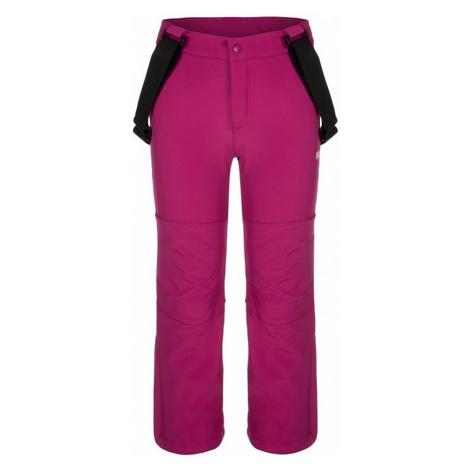 Detské softshellové nohavice Loap