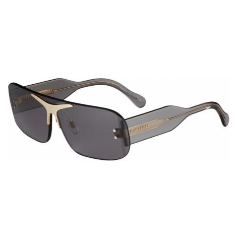 BURBERRY Slnečné okuliare '0BE3123'  tmavosivá / zlatá