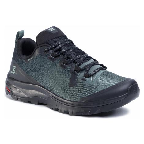 Trekingová obuv SALOMON - Vaya Gtx GORE-TEX 409896 Black/Balsam Green/Black