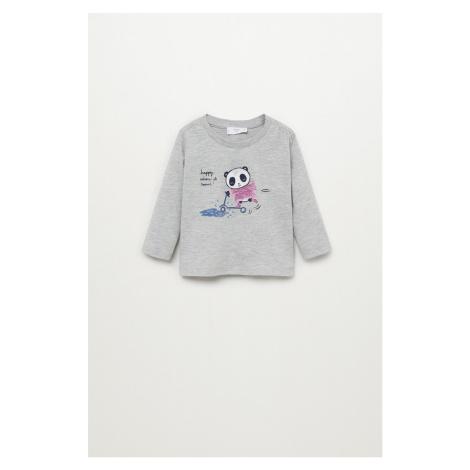 Mango Kids - Detské tričko s dlhým rukávom Ainara 80-104 cm