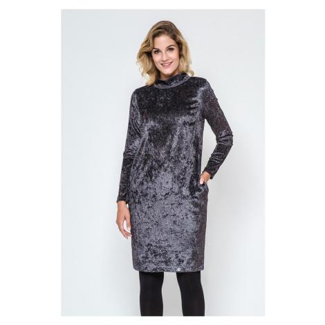 Hnedo-sivé šaty 240184 Enny