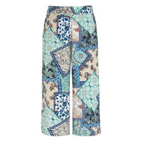 Vzorovaná nohavicová sukňa