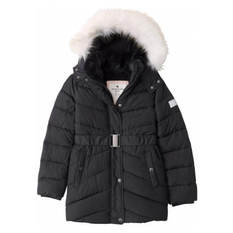 Abercrombie & Fitch Zimná bunda 'ADVENTURE'  čierna