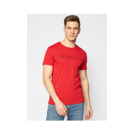 Trussardi Jeans Tričko 52T00305 Červená Regular Fit