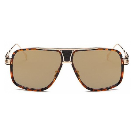 Slnečné okuliare Hawk hnedé Leo Gold