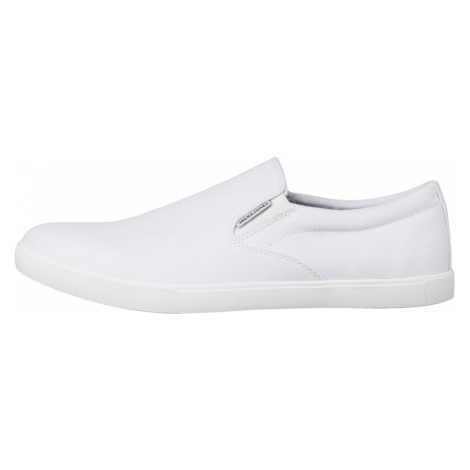 Jack&Jones Pánske Slip-On JFWROWDEN CANVAS SLIP WHITE PRE White Jack & Jones