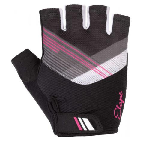 Etape LIANA čierna - Dámske cyklistické rukavice