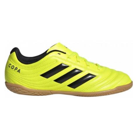 adidas COPA 19.4IN J žltá - Detská halová obuv