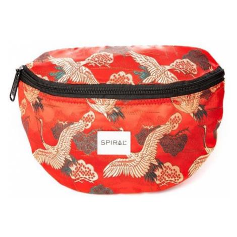 Ľadvinka Spiral Paradise Birds Bum Bag Red - Veľkosť:UNI