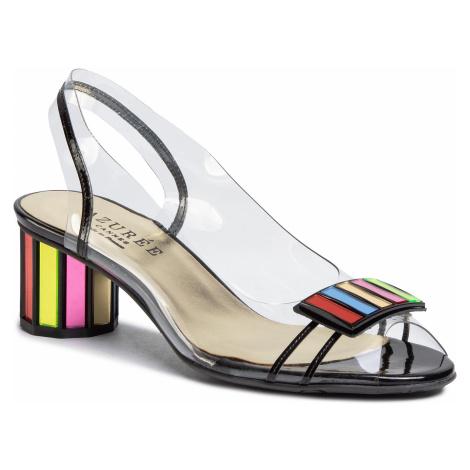 Sandále AZURÉE - Malin 9HMU Vernis Noir/Motif Multi 02 Azurée