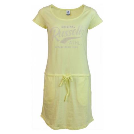 Russell Athletic ŠATY DÁMSKE ŽLTÉ žltá - Dámske šaty
