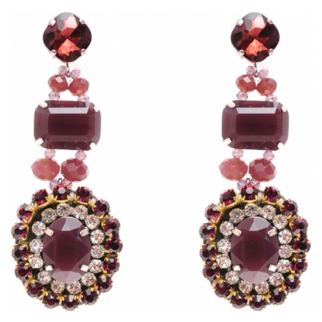 Tatami Woman's Earrings Ye1205 Purple