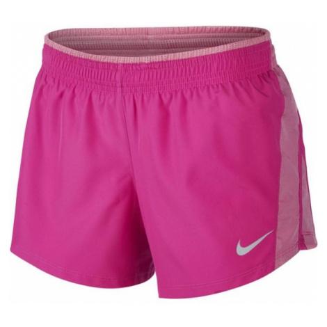 Nike 10K SHORT W ružová - Dámske bežecké šortky