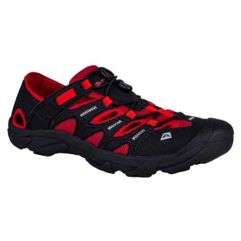 ALPINE PRO VEMOS červená - Pánska obuv