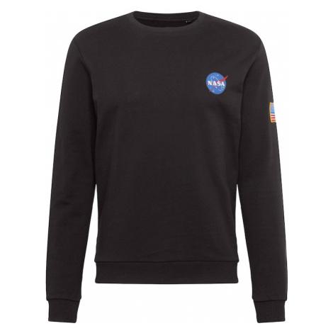 Only & Sons Mikina 'NASA'  tmavohnedá