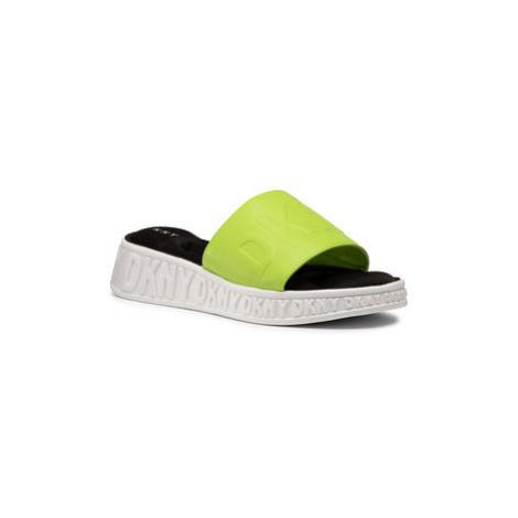 DKNY Šľapky Mara K1036920 Zelená