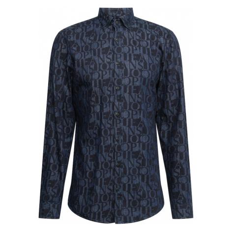 JOOP! Jeans Košeľa  tmavomodrá / modrá denim