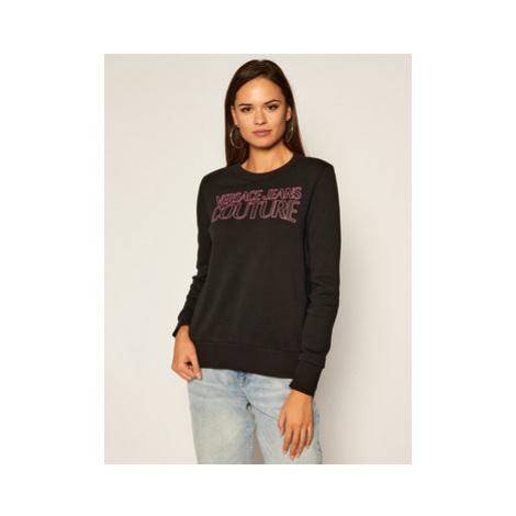 Versace Jeans Couture Mikina B6HZA7KP Čierna Regular Fit