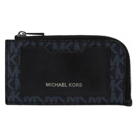 Michael Kors Peňaženka  tmavomodrá / námornícka modrá / čierna / strieborná