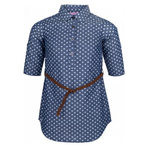 Lewro YESEMIRA modrá - Dievčenská košeľa