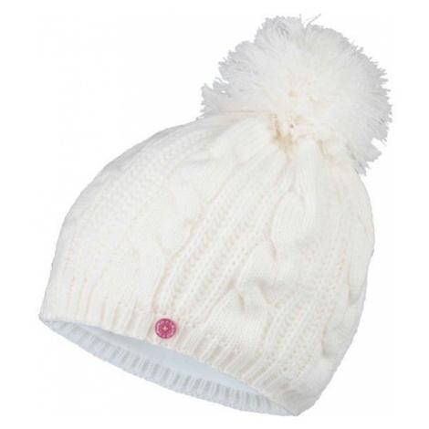 Lewro KRISTY biela - Dievčenská čiapka
