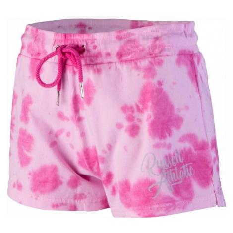 Russell Athletic JERSEY SHORT ružová - Dámske šortky