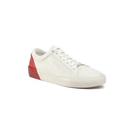 Guess Sneakersy Luis Jr FJ5LUI ELE12 Biela