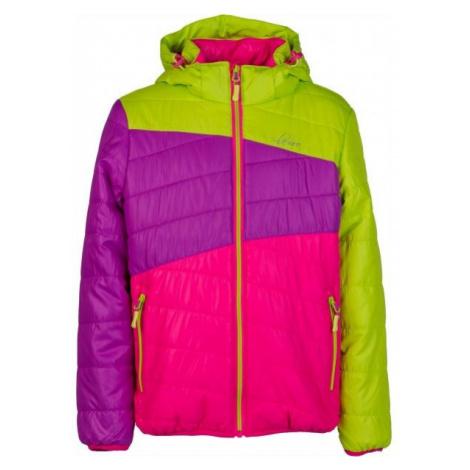 Lewro KALYF ružová - Detská prešívaná bunda