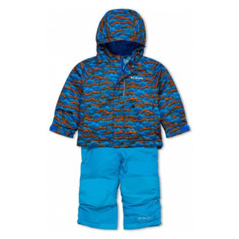 Columbia BUGA SET modrá - Detská zimná súprava