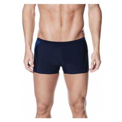 Nike POLY SOLID tmavo modrá - Pánske plavky