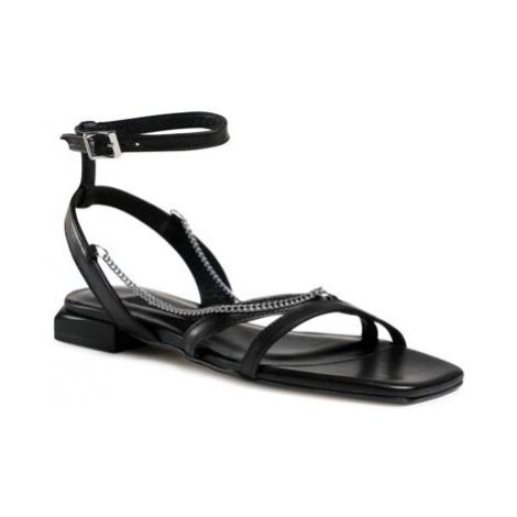 Sandále Gino Rossi 6005 Prírodná koža(useň) - Lícova