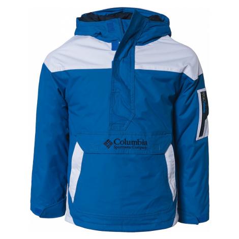 COLUMBIA Outdoorová bunda  námornícka modrá / svetlomodrá / biela