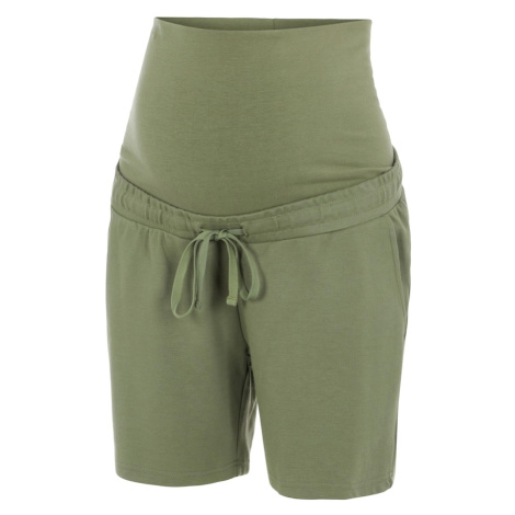 MAMALICIOUS Nohavice  zelená Mama Licious
